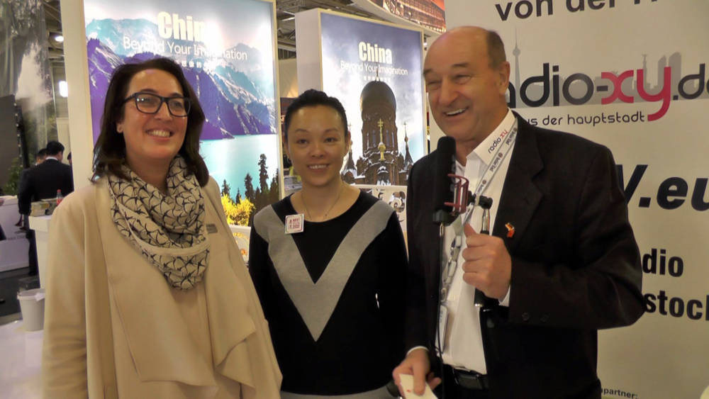 ITB 2017 Interview - Anette Wendel-Menke und Irene - Hong Kong
