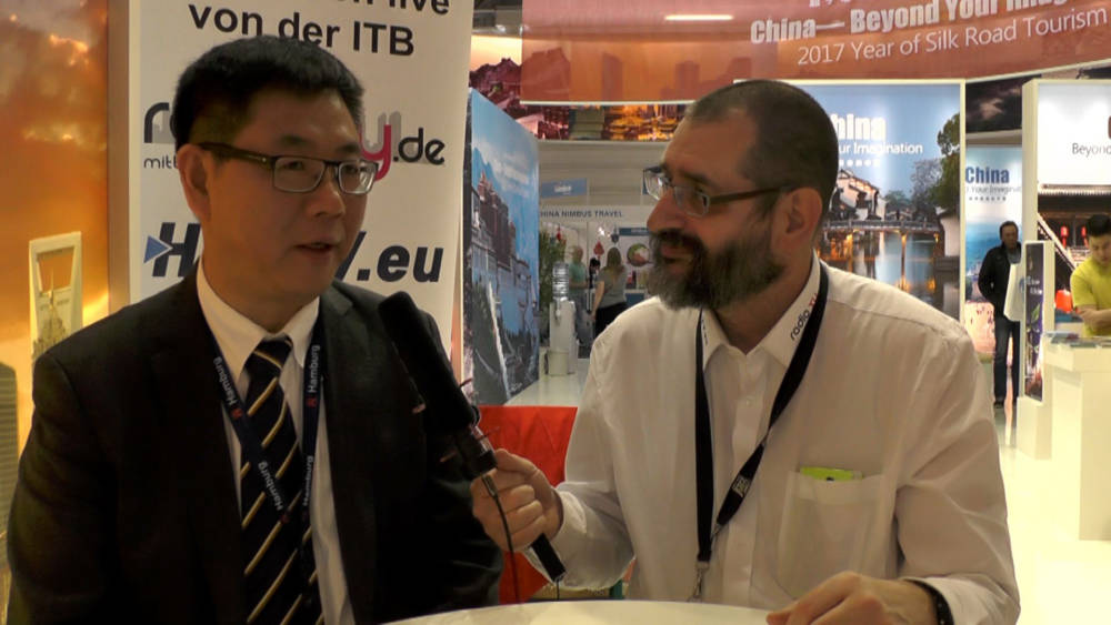 ITB 2017 Interview - Chan Chi - Tourismusdirektor der VR China