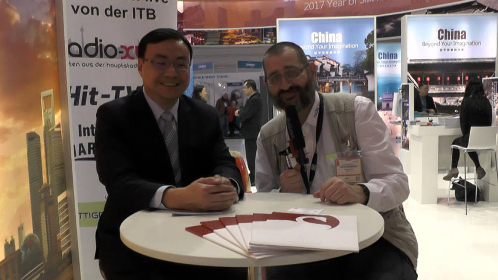 ITB 2017 Interview - Derek Lin Swan Hotels China