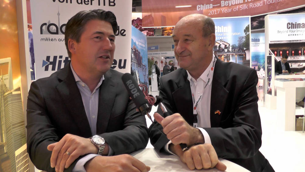 ITB 2017 Interview - Guido Laukamp -nicko cruises Flussreisen GmbH