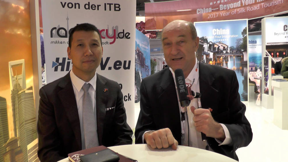 ITB 2017 Interview - Guosheng Liu China Tours