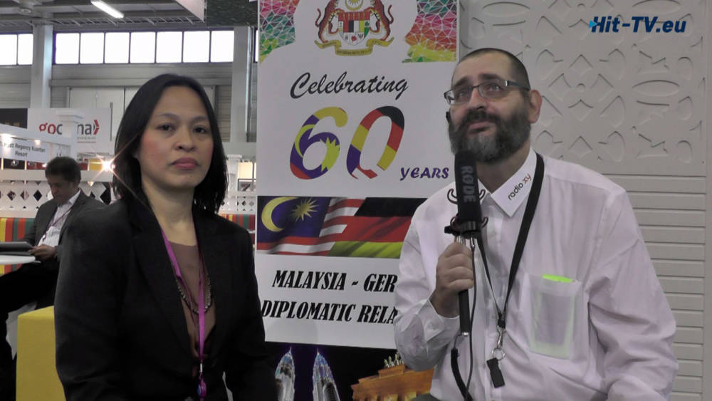 ITB 2017 Interview mit Barbara Benjamin Atan - Manager Communications Sarawak Tourism Board (Malaysia)