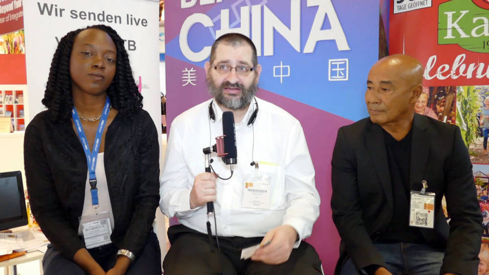 ITB 2018: Interview mit Sinfra Zaandam & Norman Mac-Intosh - Surinam