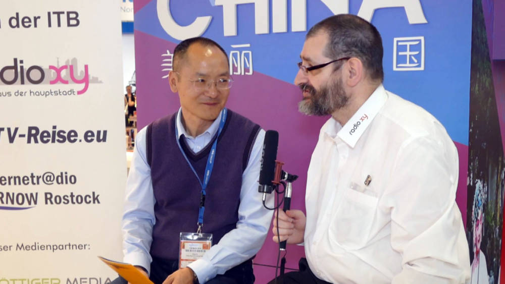 ITB 2018: Interview mit Xu Ning - Gelber Fluss Tours