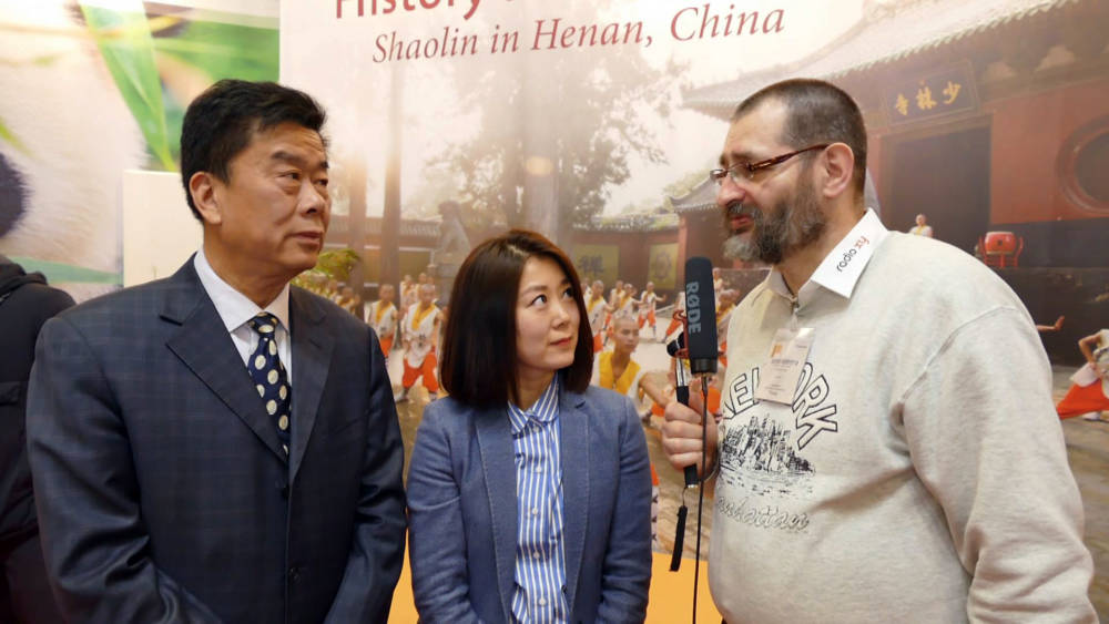 ITB 2018: Interview mit Zhang Fengyou - China Tours