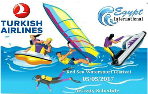 Turkish Airlines Hurghada: Großes Wassersport-Festival am 5. Mai 2017