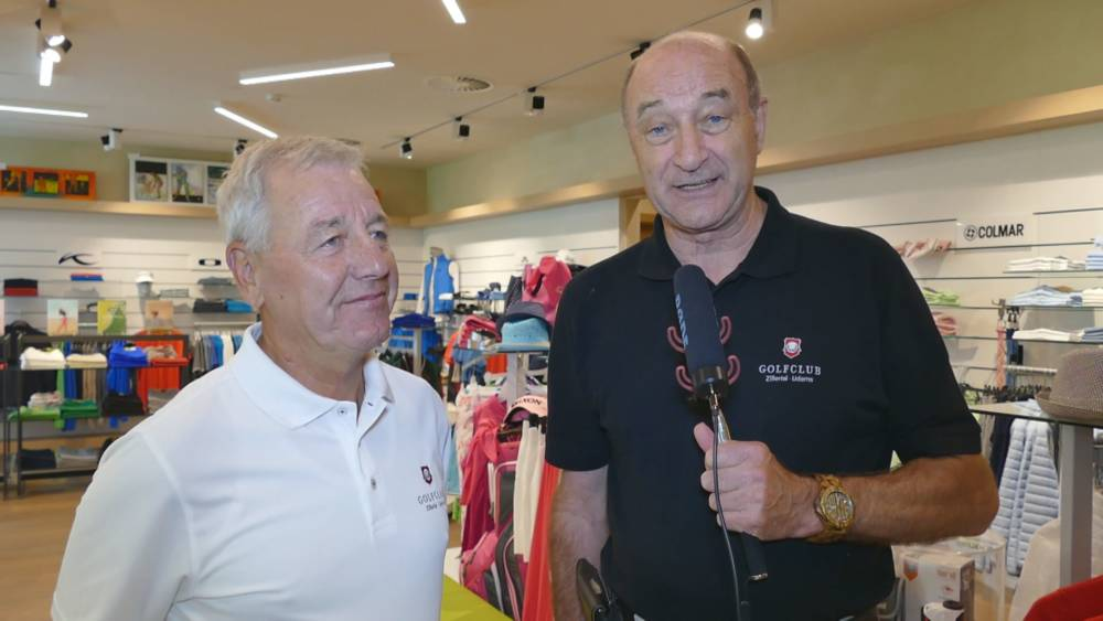 Video - Interview mit Helmut Stock - Golfclub Zillertal