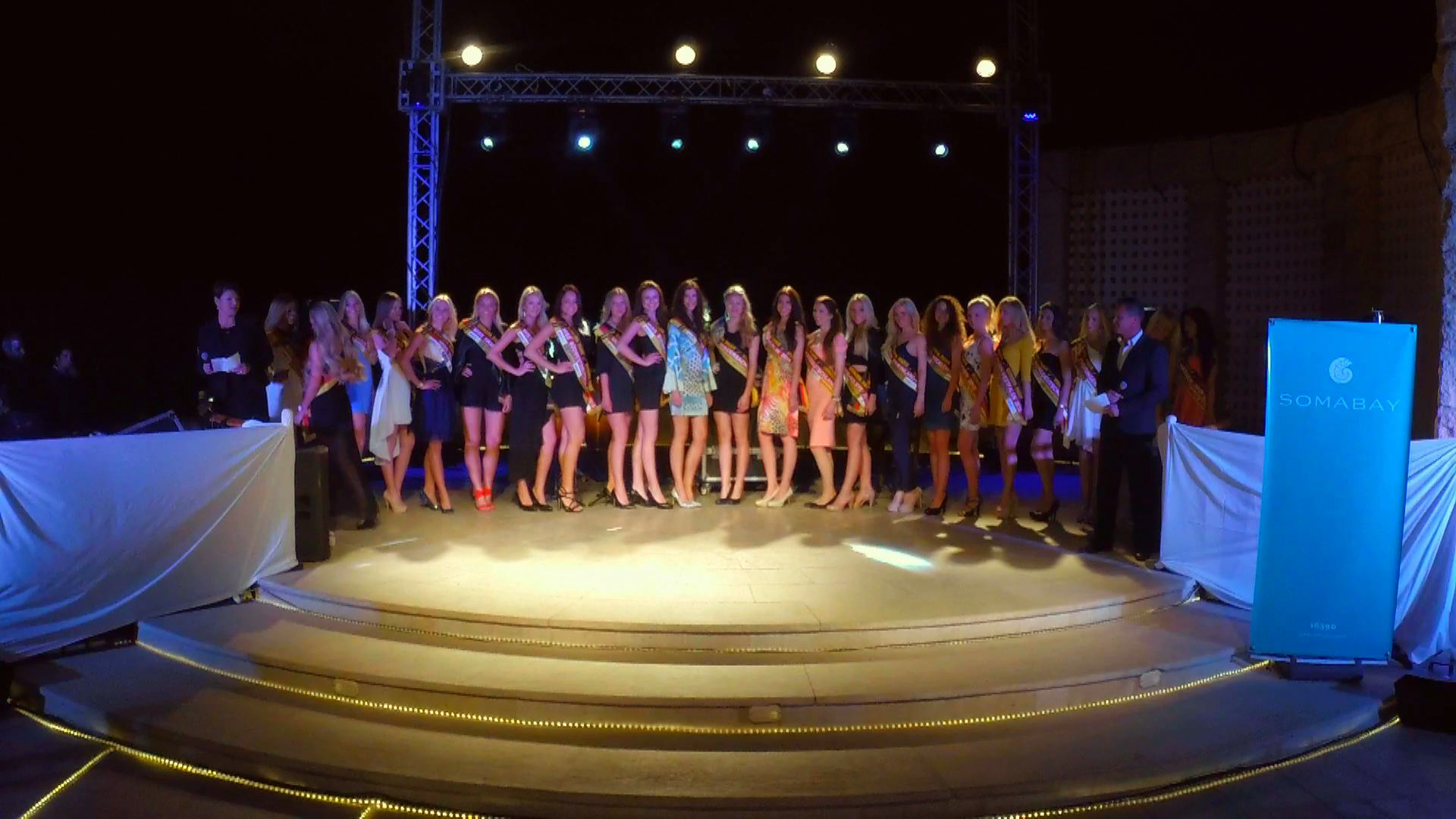 Video - Miss Germany 2015 - Wahl der Miss Somabay - Auftritt aller Missen