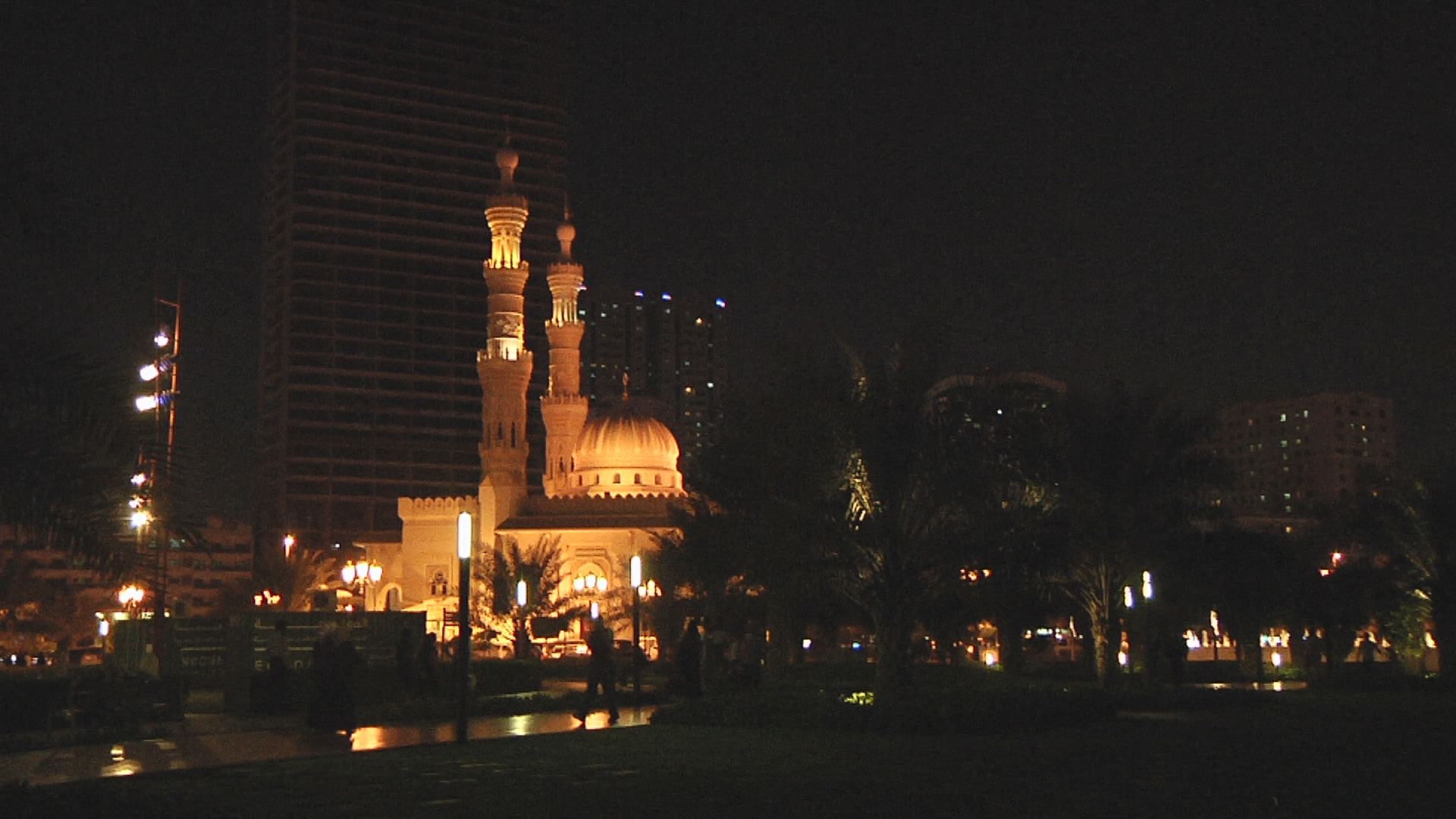Video - Sharjah - Abendstimmung