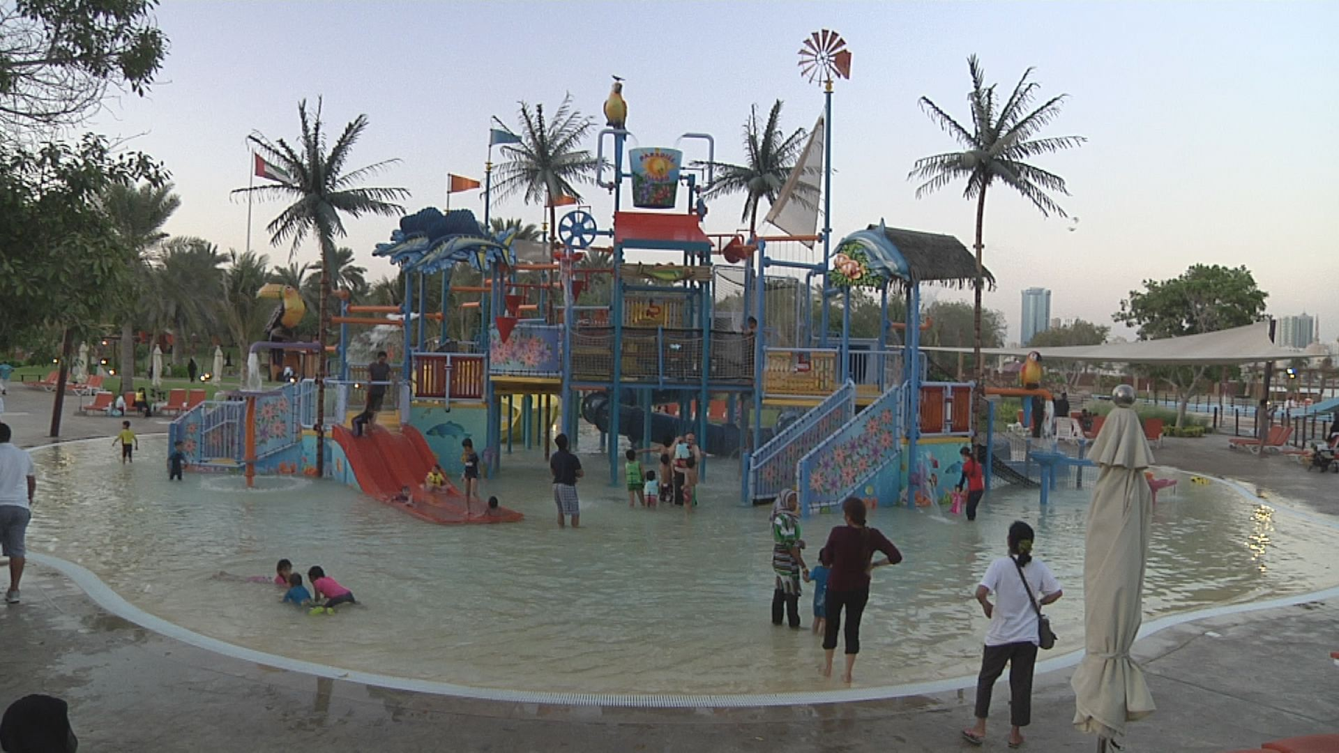 Video - Sharjah - Wasserpark
